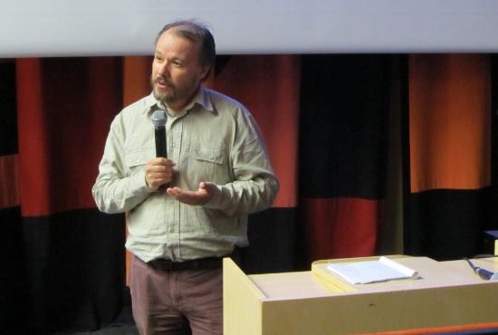 Dan Vik presenterade visionen om att starta ett Ashram i Indein.