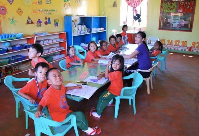 Förskolegrupper för tre- och femåringar har startats igen. Foto: Andreas Pettersson