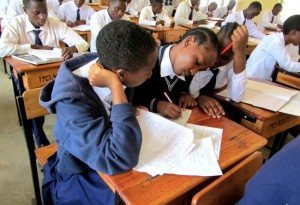Ca 350 elever går på skolan i år. Foto: Laila Saleh