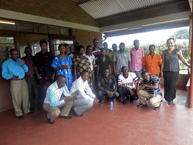 Några av deltagarna i kursen.